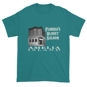 Florida's Oldest Saloon Ultra Cotton T-Shirt Jade-Dome