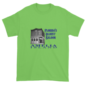 Florida's Oldest Saloon Ultra Cotton T-Shirt Lime