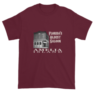 Florida's Oldest Saloon Ultra Cotton T-Shirt Maroon