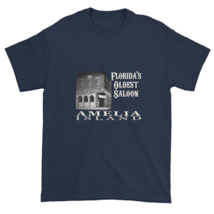 Florida's Oldest Saloon Ultra Cotton T-Shirt Navy