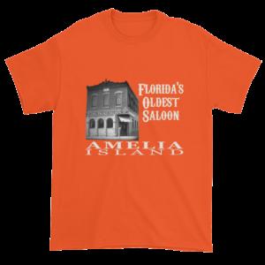 Florida's Oldest Saloon Ultra Cotton T-Shirt Orange