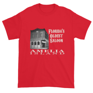 Florida's Oldest Saloon Ultra Cotton T-Shirt Red