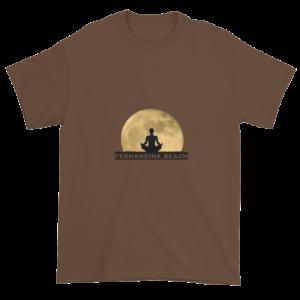 Full Moon Lotus Ultra Cotton T-Shirt Chestnut