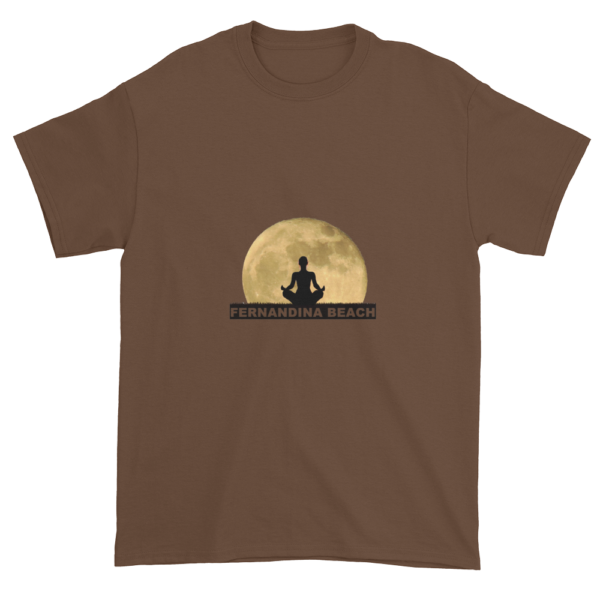 Full Moon Lotus Ultra Cotton T-Shirt Chestnut