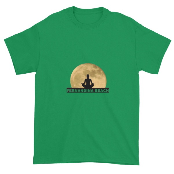 Full Moon Lotus Ultra Cotton T-Shirt Irish-Green