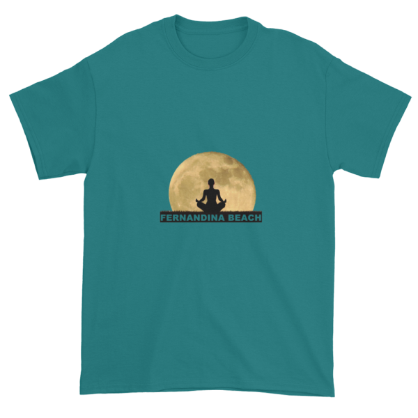 Full Moon Lotus Ultra Cotton T-Shirt Jade-Dome