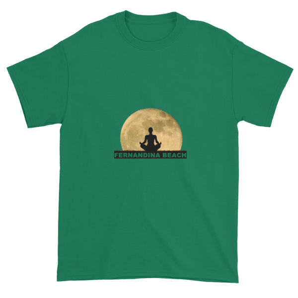 Full Moon Lotus Ultra Cotton T-Shirt Kelly