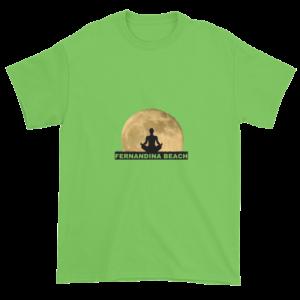 Full Moon Lotus Ultra Cotton T-Shirt Lime