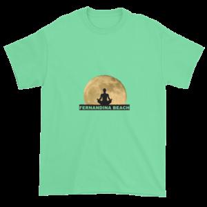 Full Moon Lotus Ultra Cotton T-Shirt Mint-Green