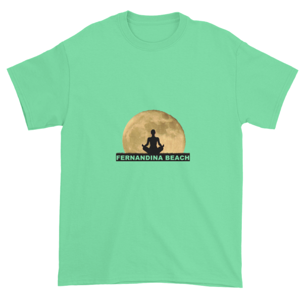 Full Moon Lotus Ultra Cotton T-Shirt Mint-Green