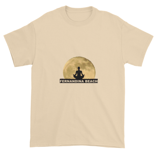 Full Moon Lotus Ultra Cotton T-Shirt Natural