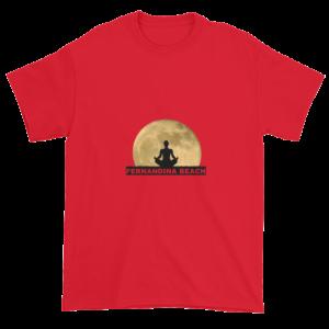 Full Moon Lotus Ultra Cotton T-Shirt Red