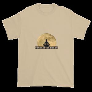 Full Moon Lotus Ultra Cotton T-Shirt Sand