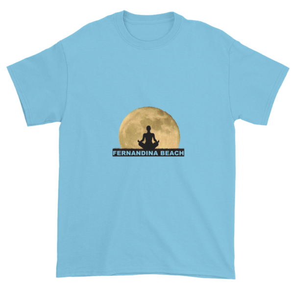 Full Moon Lotus Ultra Cotton T-Shirt Sky