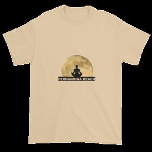Full Moon Lotus Ultra Cotton T-Shirt Tan