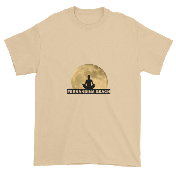 Full Moon Lotus Ultra Cotton T-Shirt Tan