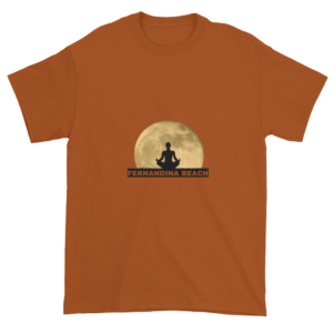Full Moon Lotus Ultra Cotton T-Shirt Texas-Orange