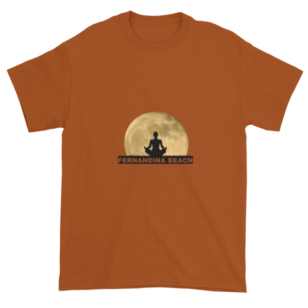 Full Moon Lotus Ultra Cotton T-Shirt Texas-Orange