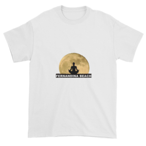 Full Moon Lotus Ultra Cotton T-Shirt White