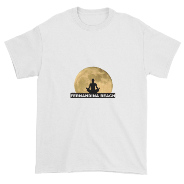 Full Moon Lotus Ultra Cotton T-Shirt White