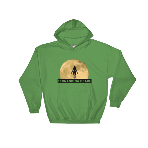Full Moon Yoga Hoodie Irish-Green
