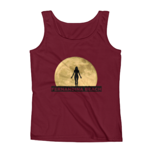 Full Moon Yoga Missy Fit Tank-Top Independence-Red