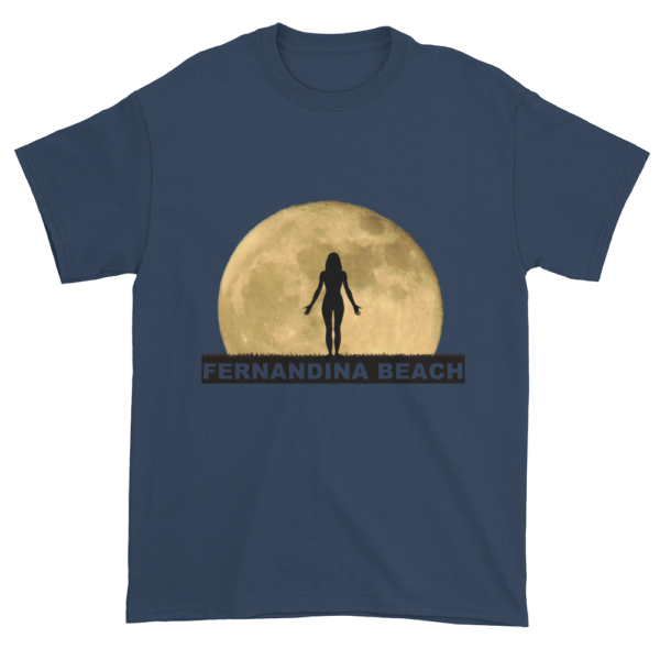 Full Moon Yoga Ultra Cotton T-Shirt Blue-Dusk