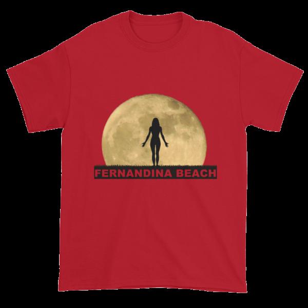 Full Moon Yoga Ultra Cotton T-Shirt Cherry-Red