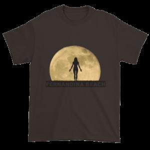 Full Moon Yoga Ultra Cotton T-Shirt Dark-Chocolate