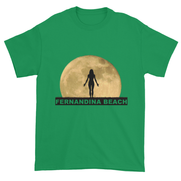 Full Moon Yoga Ultra Cotton T-Shirt Irish-Green