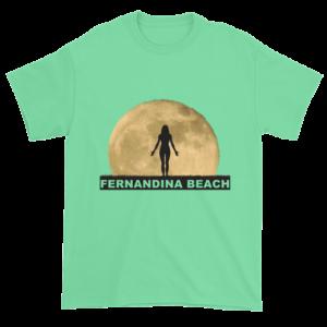 Full Moon Yoga Ultra Cotton T-Shirt Mint-Green