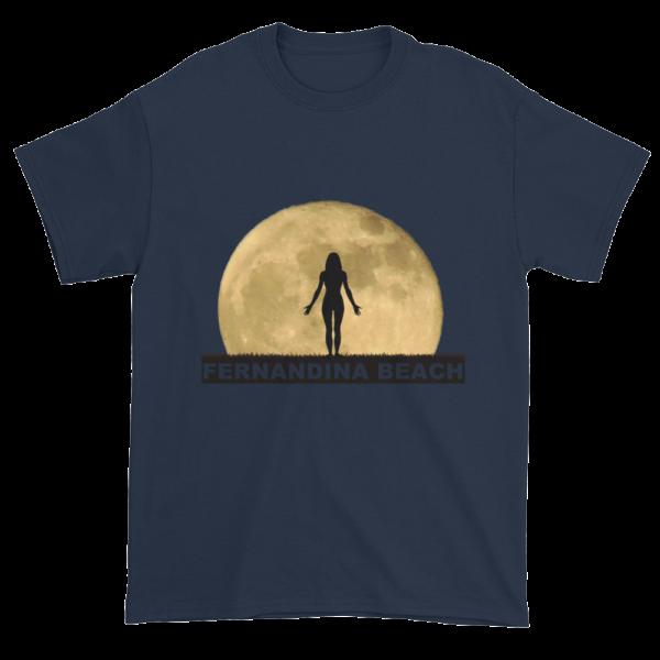 Full Moon Yoga Ultra Cotton T-Shirt Navy