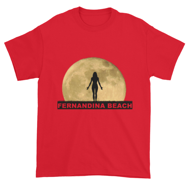 Full Moon Yoga Ultra Cotton T-Shirt Red