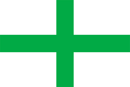 Green Cross flag of Florida 1817
