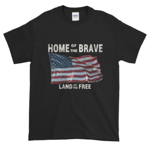 Home of the Brave Land of the Free Black