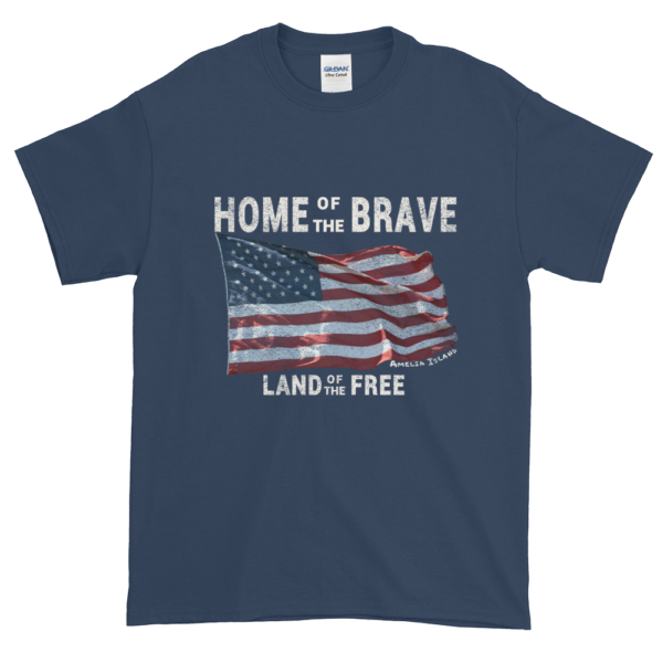Home of the Brave Land of the Free Blue-Dusk