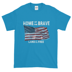 Home of the Brave Land of the Free Sapphire