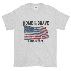 Home of the Brave Ultra Cotton T-Shirt Ash