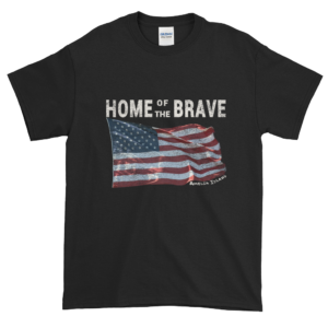 Home of the Brave Ultra Cotton T-Shirt Black