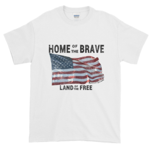 Home of the Brave Ultra Cotton T-Shirt White