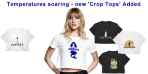 Newsletter Crop Top