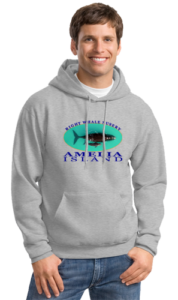 Right Whale Nusery Mens Hoodiie