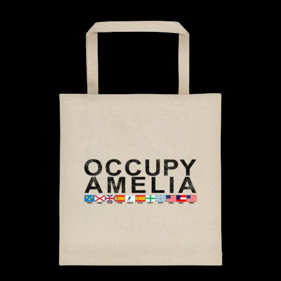 Occupy Amelia Bull Denim Cotton Tote Beige