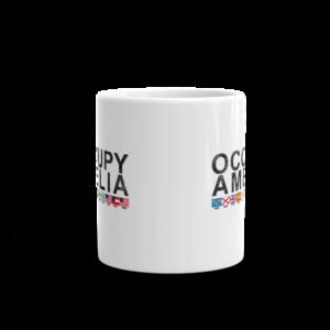 Occupy Amelia Mug Front-view 11oz