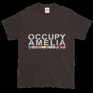 Occupy Amelia Ultra Cotton T-Shirt Dark-Chocolate