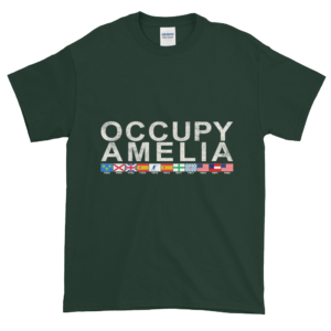 Occupy Amelia Ultra Cotton T-Shirt Forest
