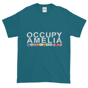 Occupy Amelia Ultra Cotton T-Shirt Galapagos-Blue