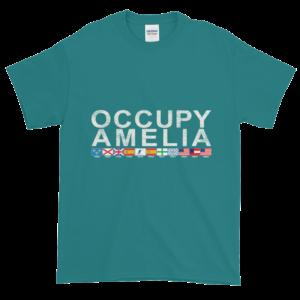 Occupy Amelia Ultra Cotton T-Shirt Jade-Dome
