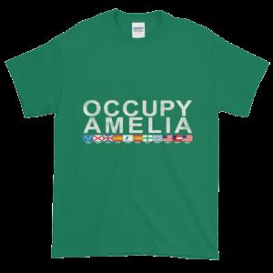 Occupy Amelia Ultra Cotton T-Shirt Kelly