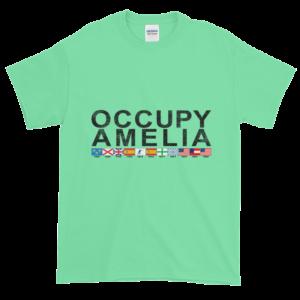 Occupy Amelia Ultra Cotton T-Shirt Mint-Green